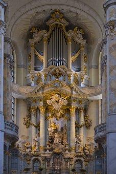 Church, Frauenkirche, Dresden, Germany, Saxony