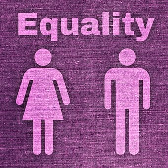Man, Woman, Equality, Male, Female, Fabric, Tissue