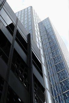 Skyscraper, Ffm, Frankfurt, Facade, Skyscrapers