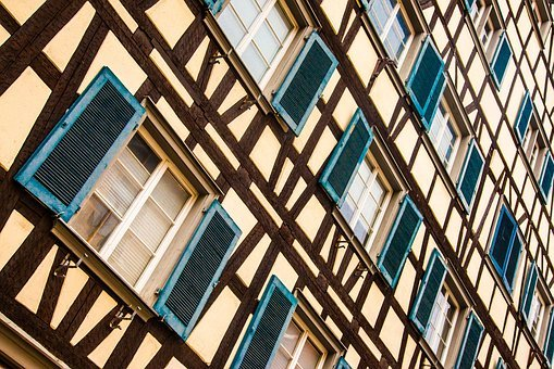 Truss, Window, Shutters, Home, Fachwerkhaus, Wood