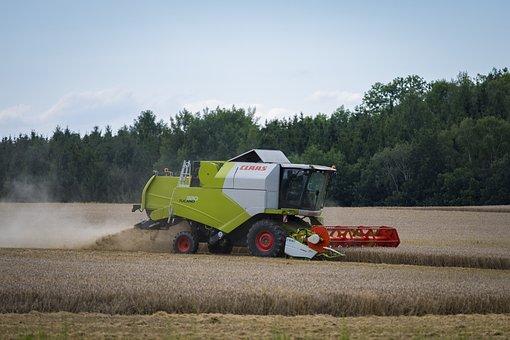 Combine Harvester, Harvest, Harvester, Agriculture
