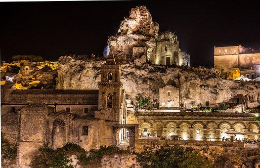 Matera, The Rock Church, Sassi, Italy, Unesco