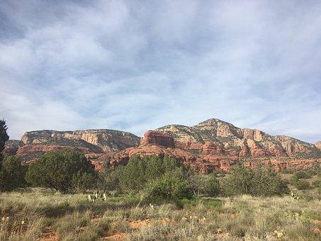 Sedona, Arizona, Southwest, Nature, Landscape