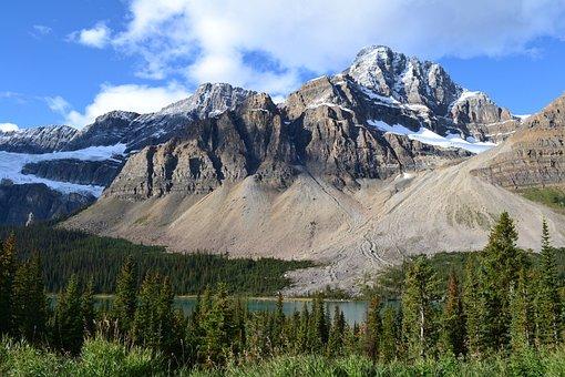 Canada, Mountains, Nevado, Landscape, Nature, Forest
