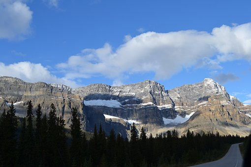 Canada, Rocky, Nature, Mountains, Sky