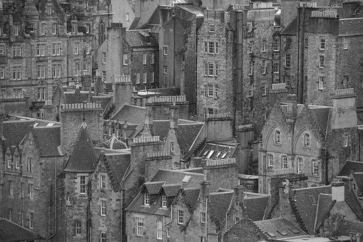 Edinburgh, Old Town, Medieval, Scotland, Travel