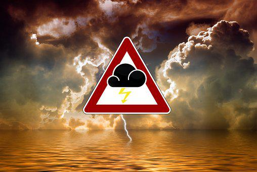 Storm, Severe Weather Warning, Warning, Forward, Sea