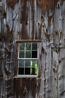 Wooden, Wall, Barn, Window, Wood, Texture, Vintage, Old