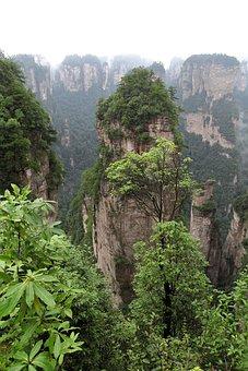 Zhangjiajie, Wulingyuan