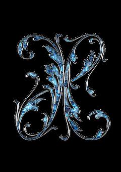 Letter, Letter X, X, Initials, Font, Alphabet