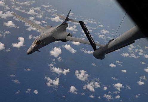 B-1b Lancer, Bomber, Aircraft, Military, Aviation