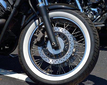 Motorcycle, Chopper, Tire, White Wall, Bike, Motorbike
