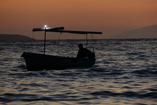 Boat, The Fisherman, Nature, Water, Sea, Holidays