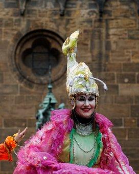 Carnival, Bremen, Fools, Hanseatic City, Human, Color