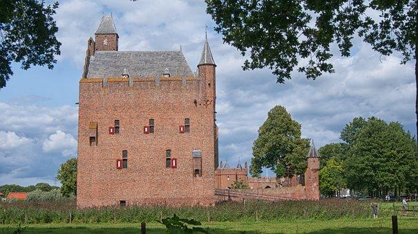 Castle Doornenburg, History, Castle, Building, Fortress
