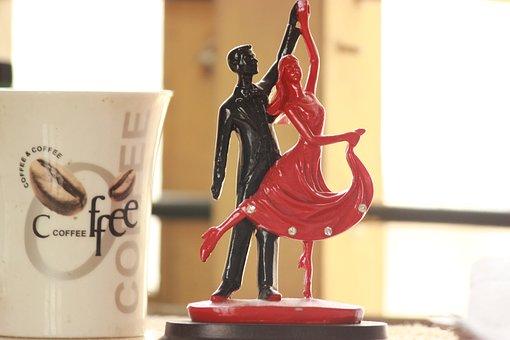 Romance, Evening, Cofee, Tea, Couples, Love, Brown Tea