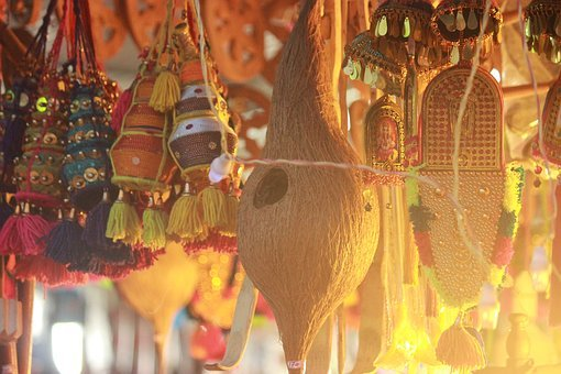 Festival, Kerala, India, Lights, Yellow, Happiness