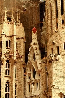 Sagrada Familia, Gaudi, Church, Barcelona, Spain