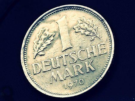 Coin, Currency, German Mark, Dm