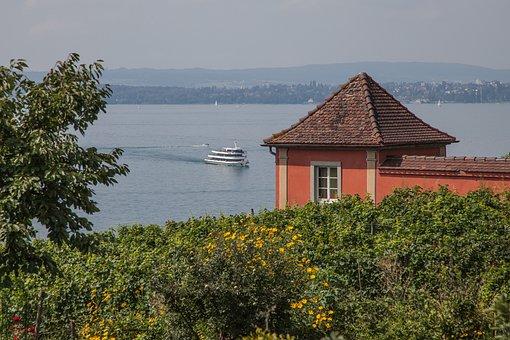 Meersburg, Lake Constance, Germany, City, Nature