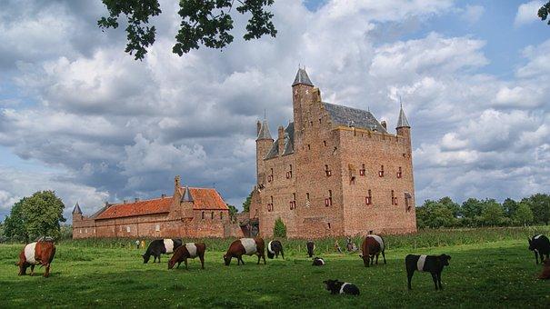 Castle Doornenburg, Castle, History, Old, Lock