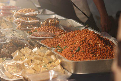 Festival, Kerala, India, Peanuts, Lights
