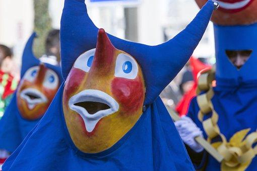 Mask, Carnival, Costume, Masquerade