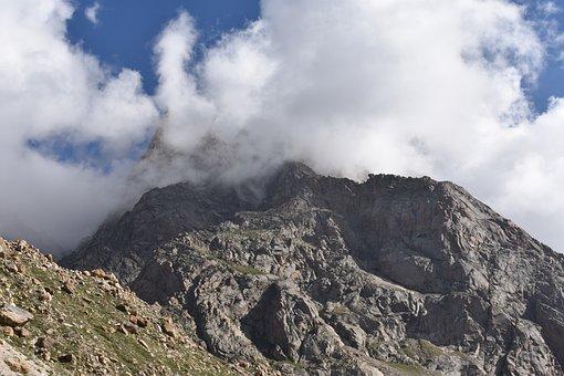 Clouds, Hills, Mountains, Landscape, Nature, Mountain