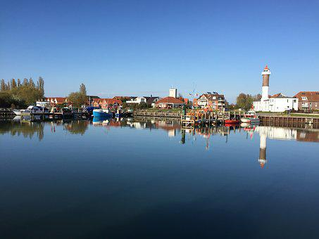 Timmendorf, Port, Lighthouse, Insel Poel