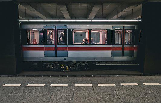 Train, Prague, Subway, Metro, Move, Technology, Speed