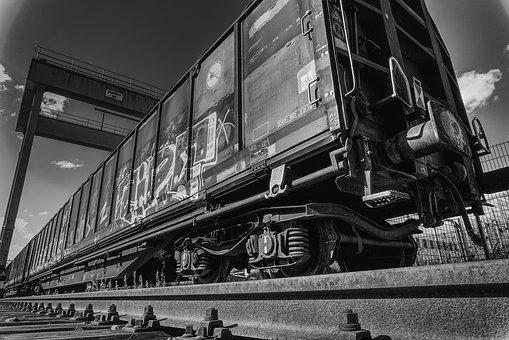 Train, Wagon, Railway, Seemed, Track, Rail Traffic