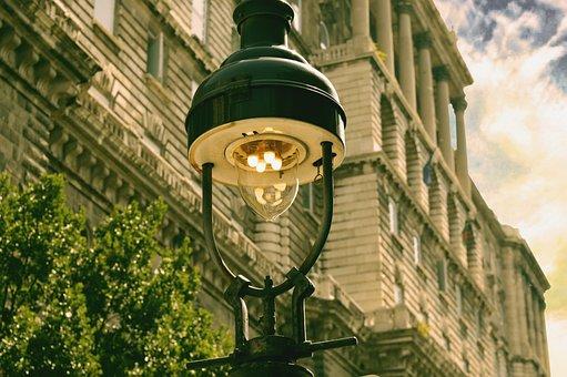 Streetlamp, Streetlight, Lamp, Light, Street, Lamppost