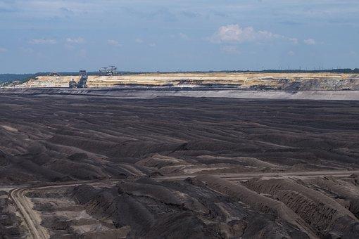 Technology, Mining, Open Pit Mining, Welzow, Saxony