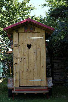 Loo, Wc, Wchäusschen, Outhouse, Toilet, Toilet Cabin