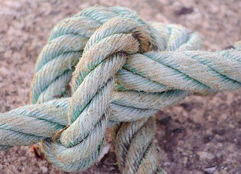 Knot, Rope, Safety, Nautical, Twisted, Pattern, Marine