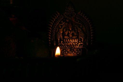 Lights, Virtue, Good, Kerala, India, Festival Of Lights