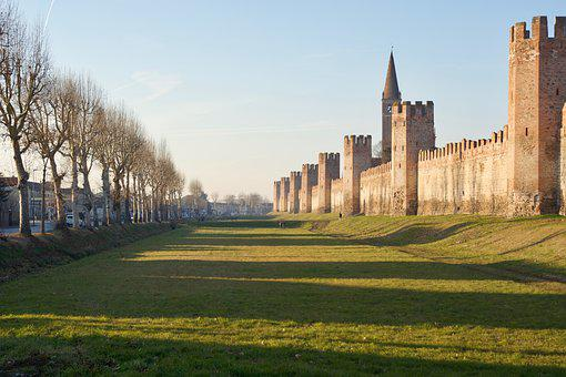 Wall, City Wall, Architecture, Old, Town, Historical