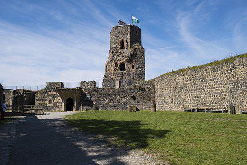 Castle, Fortress, Tower, Castle Tower, Watchtower, Old