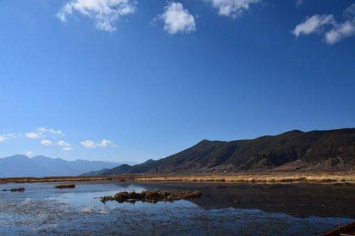 Yunnan Lijiang, Lugu Lake, Caohai