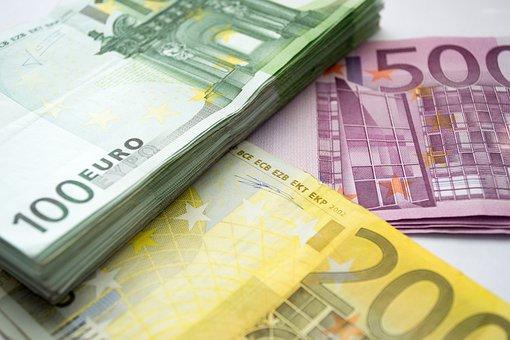 Money, Euro, 100 Eur, 200 Eur, 500 Eur, Package