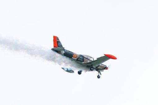 Sf 260 Marchetti, Aircraft, Fly, Flugshow