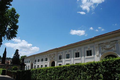 Florence, Garden, Boboli, Tuscany, Park, Architecture