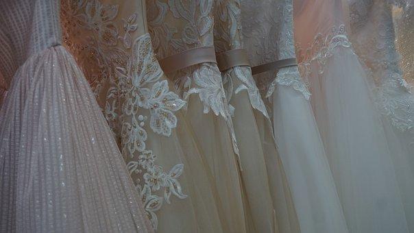 Wedding, Fashion, Dress, Bride, White, Woman, Girl