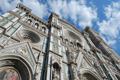Florence, Cathedral, Architecture, Italy, Tuscany
