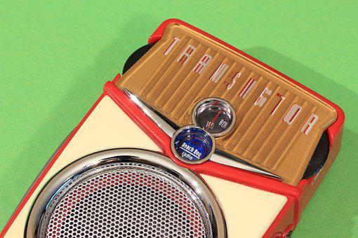 Transistor, Radio, Receiver, Portable, Pocket