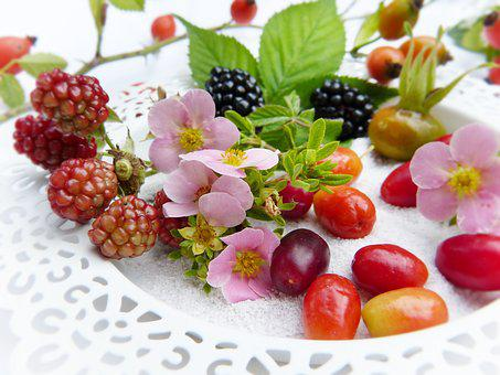 Berries, Fresh, Fruits, Bio, Autumn, Ripe, Fruit