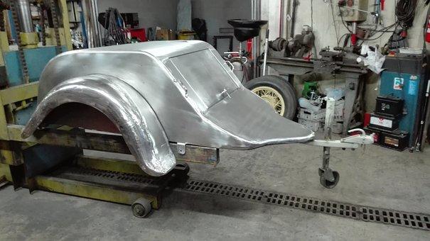 Trailer, Sheet Metal Working, Restoration