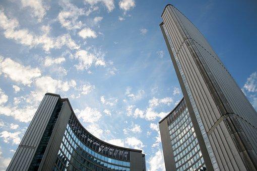 Toronto, City Hall, Skies, Building
