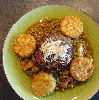 French Røsti, Potatoes, Røsti, Horseradish, Steak