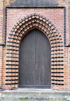 Portal, Gateway, The Door, Furta, The Gothic, Castle